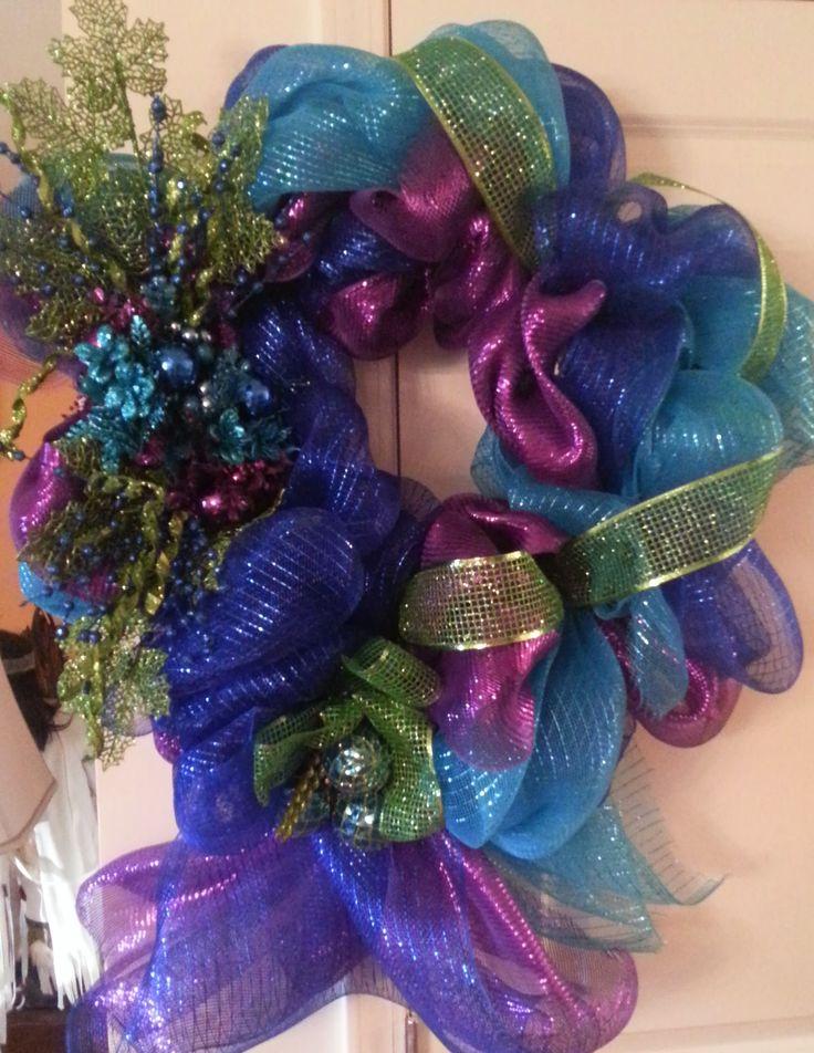 Peacock Wreath 2