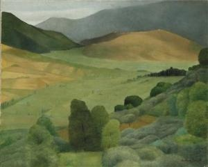 Antonio Donghi - nice landscape