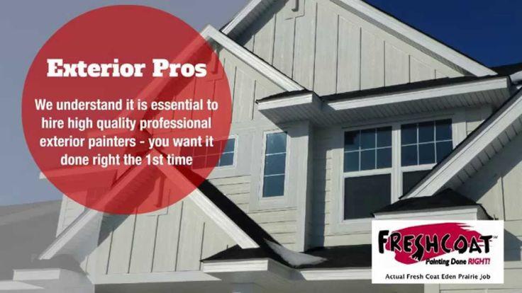 Eden Prairie, Edina Exterior Painting Contractors - House & Business