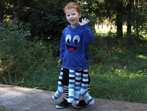 That is super cute and great for kids (like Keagan) who don't want to wear a costume!