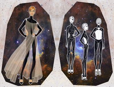 space couture by halewijn BULCKAEN: Prometheus :: Tron Legacy :: the ultimate body sui...