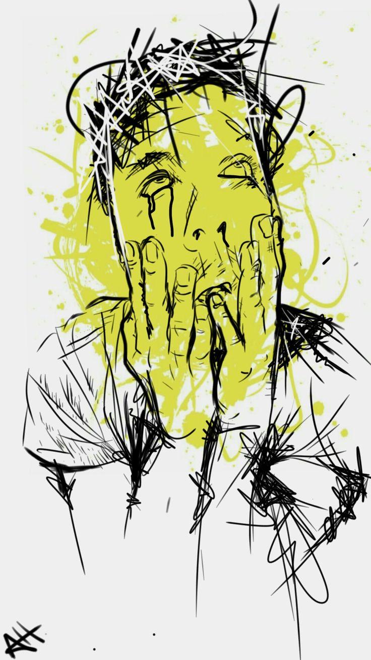 """""""Self Portrait"""" Sketchbook Express app"""