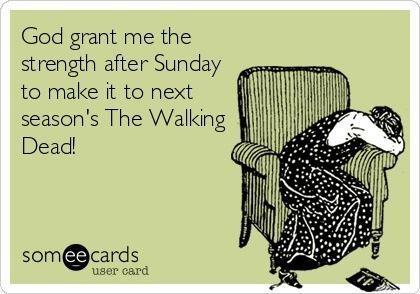 TO Aaron: Enjoy your walking dead