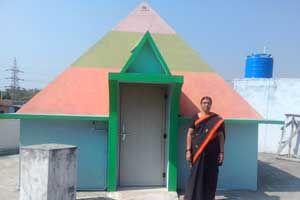 Sree Lakshmi Narayana Pyramid Meditation Center http://pyramidseverywhere.org/pyramids-directory/telangana/karimnagar-district