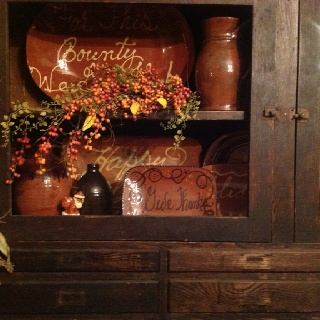 Country primitive decor bucyrus oh
