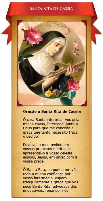 Santinhos Virtuais – Santa Rita de Cássia | Associação Apostolado do Sagrado Coração de Jesus