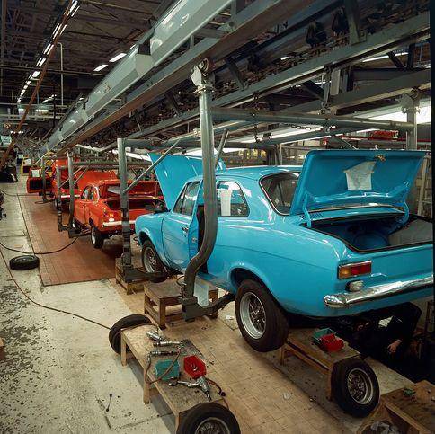 Aveley Production Line