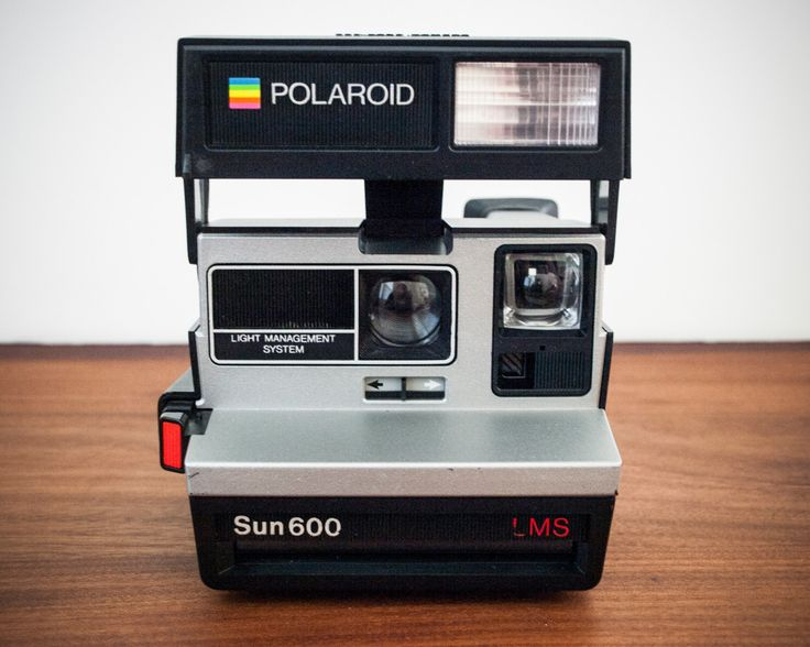 TESTED Polaroid Sun 600 LMS, Polaroid Camera, Sun 600 camera, Polaroid LMS camera, Working Polaroid, Silver Polaroid, Polaroid Sun Camera by VintageRecycleBin on Etsy https://www.etsy.com/listing/206476888/tested-polaroid-sun-600-lms-polaroid