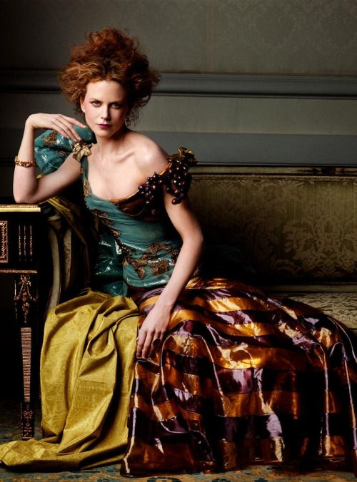 'Portraits of a Lady', Nicole Kidman by Steven Meisel, Vogue US June 1999. Christian Dior Spring Summer 1999 Haute Couture