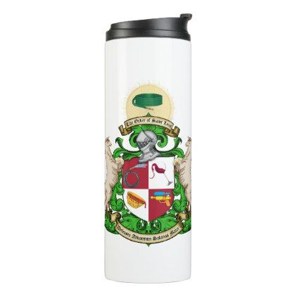 Order of St. Luis Thermal Tumbler - wedding party gifts equipment accessories ideas