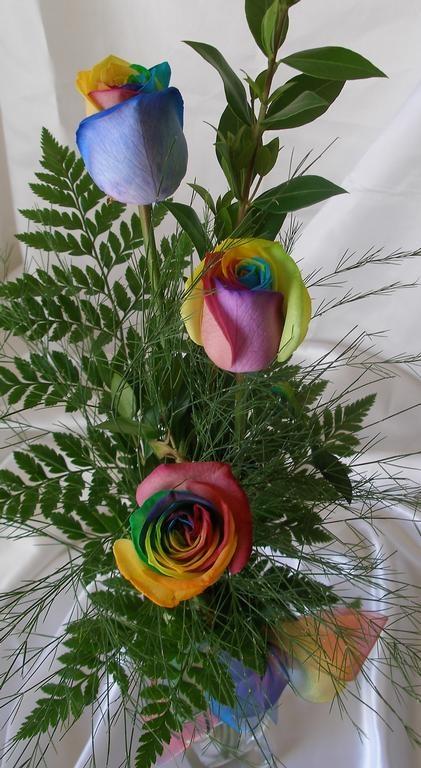 116 Best Images About Decorative Tie Dye Flowers On Pinterest