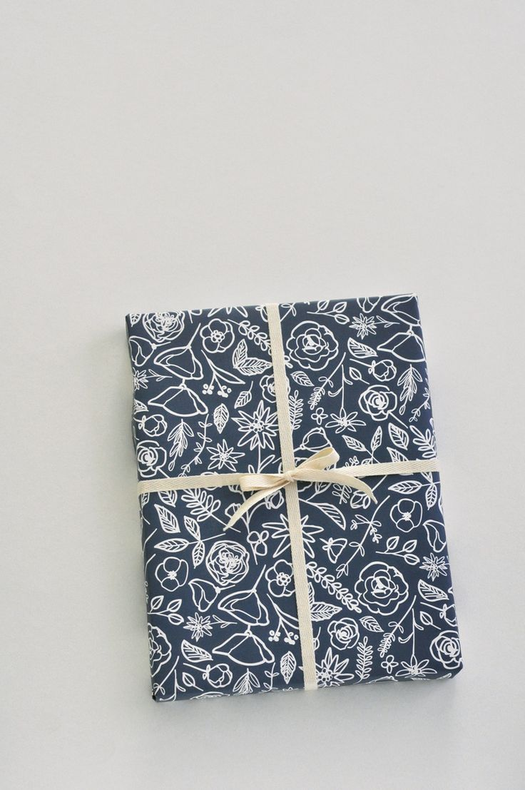 Floral Wrapping Paper / Paper & Type.