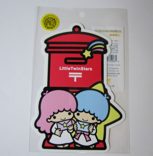 SANRIO-Little-Twin-Stars-post-card-limited-JAPAN-POST-discontinued