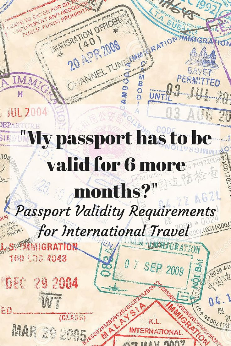What are a few passport requirements for entering Mexico?