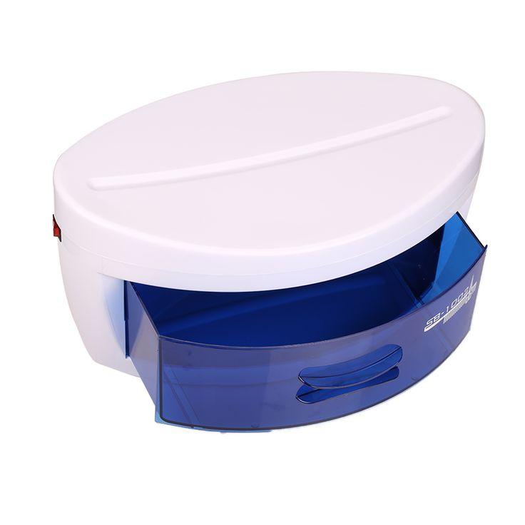 Tools Sterilizer Professional Nail Sterilizer Box Nail Art Salon Portable UV Sterilizing Tool Beauty Esterilizador Manicure #Affiliate