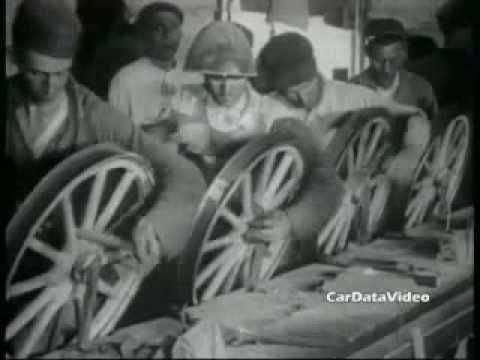 Henry Ford, Model T, and the Assembly Line...the parts come to the worker not vice versa...secured Ford's leadership because he could produce more cars