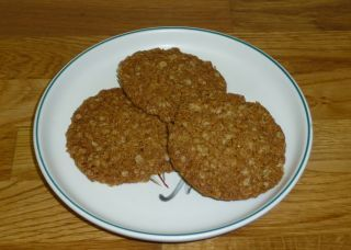 If you like crunchy biscuits these are well worth a try. Always popular with my friends at the windmills. They are very easy to make but please ensure you space the mixture on the baking trays as advised below - they spread out significantly during cooking.