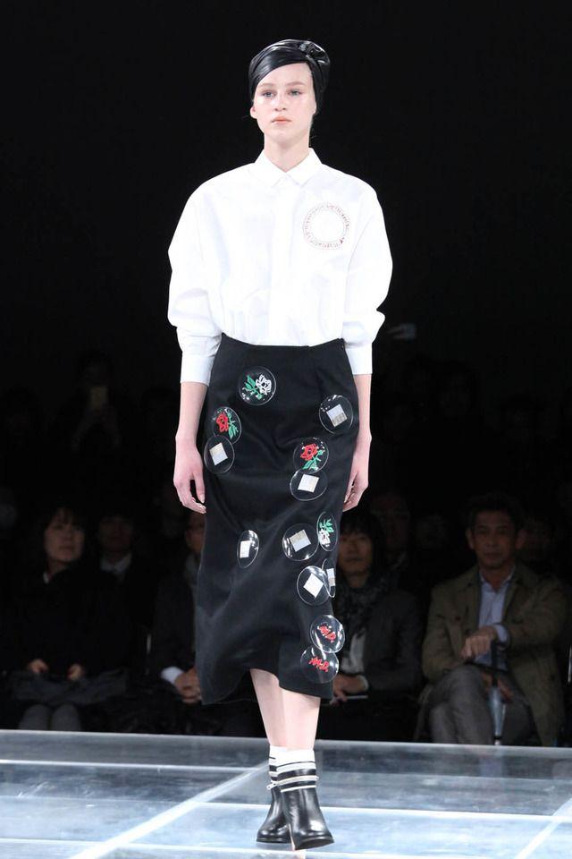 ミントデザインズ、ポストモダンに魅せられた近未来【16-17AWウィメンズ】 13枚目 #mintdesigns #2016 #2017 #aw #fashion #tokyo