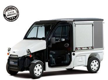 Beckers Golf Cart Handel -   - Ligier - Yamaha - WSM Mitsubishi - E-Z-GO - Club Car - Ligier Be Sun L3 Koffer mit Straßenzulassung NEUFAHRZEUG Elektrofahrzeug / Elektrotransporter