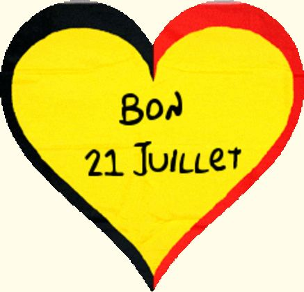 À toutes la Belgique et  de tous cœur bonne fête nationale
