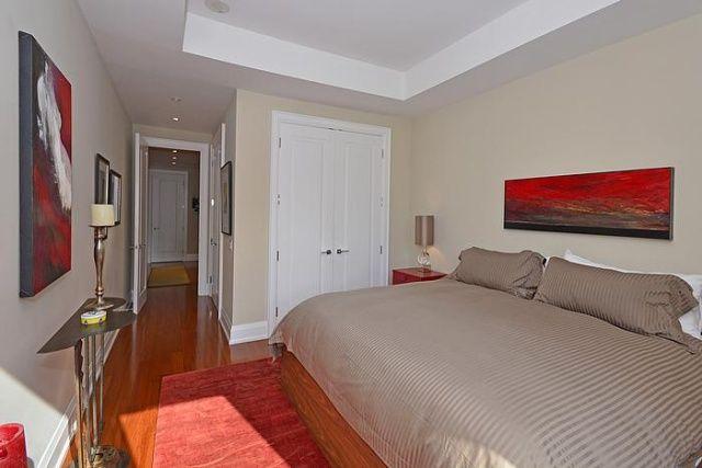 Yorkville Condos The Florian Master Bedroom 88 Davenport Rd Toronto Victoria Boscariol Chestnut Park Real