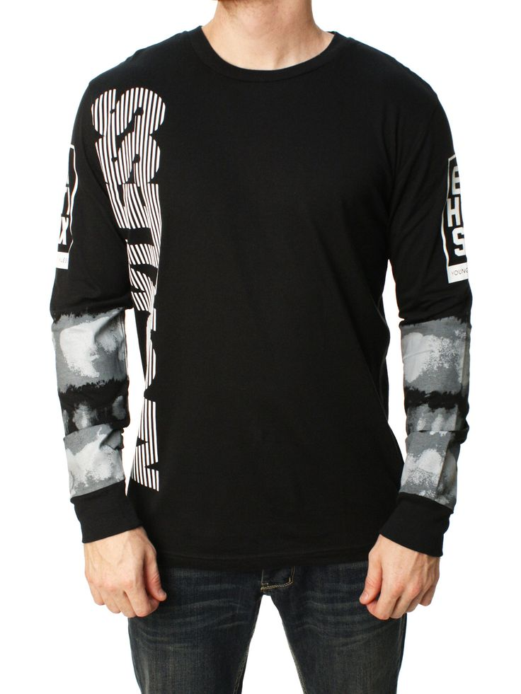 Young & Reckless Men's Vertical Limits Graphic T-Shirt