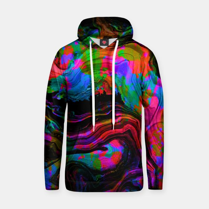 Painted Neon hoodie by Fimbis   ________________________________ women, girls, boys, men, hoody, abstract, surreal, fluid art, fluid painting, neon, blue, green, pink, black, vibrant, bright, purple, violet, orange, photoshop, fashion, fashionistas, fashionista, on trend,