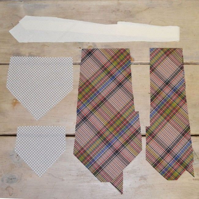 Old Fashioned Tie Patterns To Sew Ornament - Easy Scarf Knitting ...