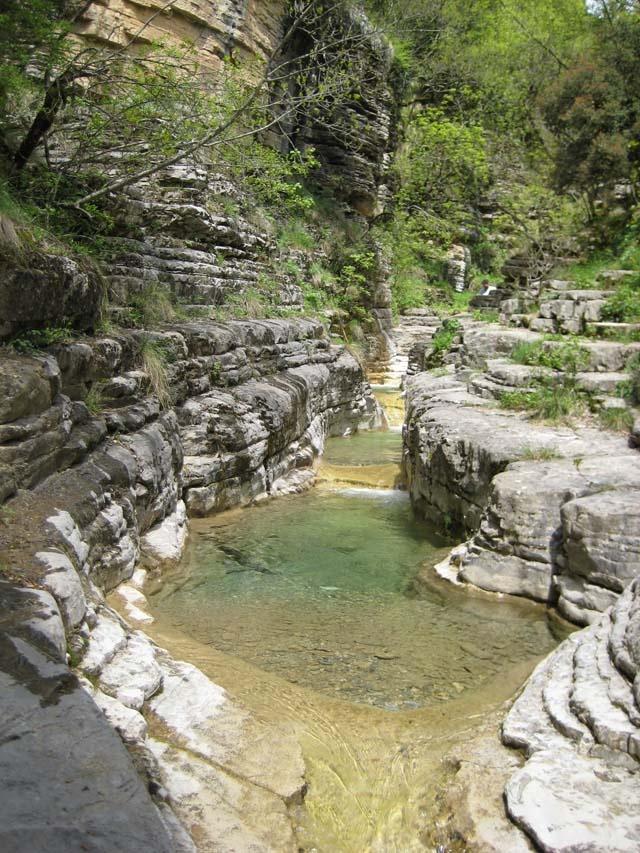 Kolibithres, Zagorohoria. Epirus, Greece