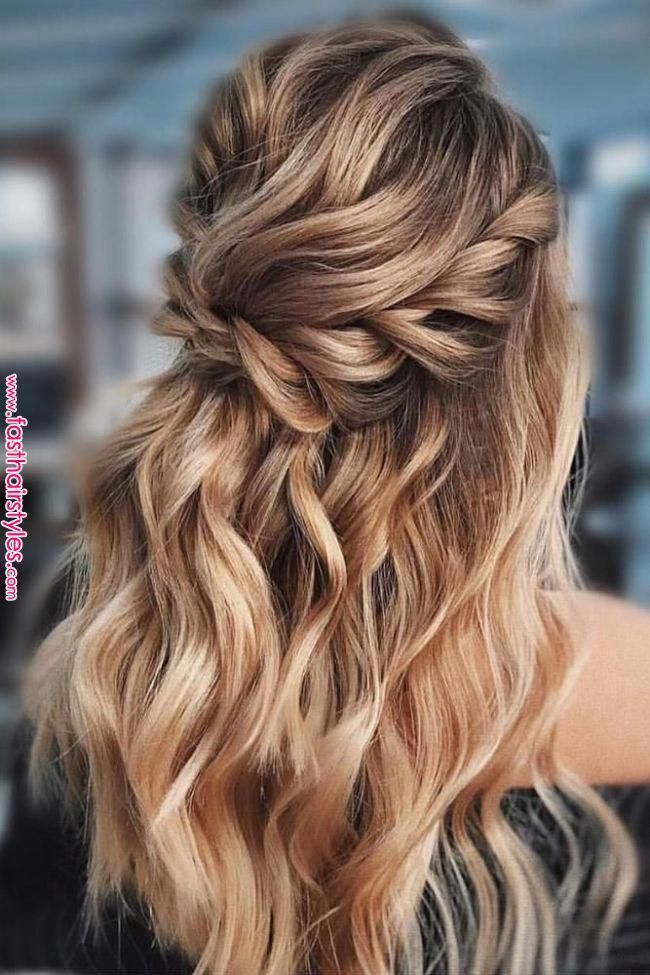 Best Wedding Hairstyle Trends 2019 The last thing you want to worry about is doi…