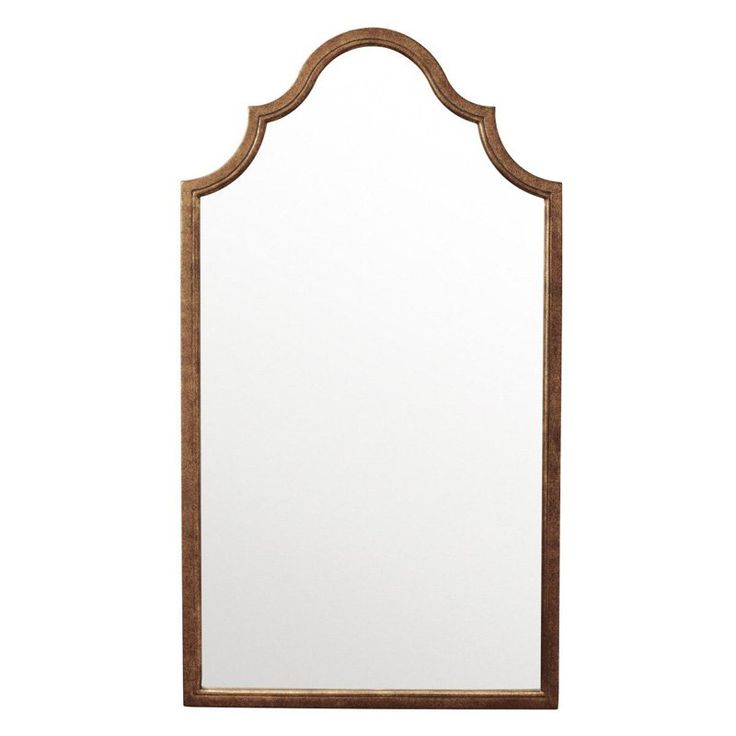 Have to have it. Etiquette Bronze Arched Wall Mirror - 20W x 36H in. - $198 @hayneedle