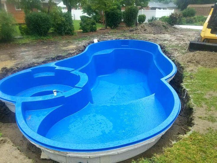diy fibreglass pool kit