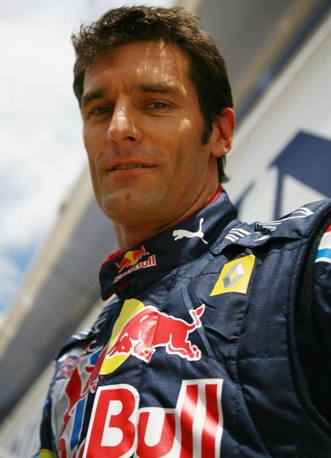 Mark Webber of Red Bull
