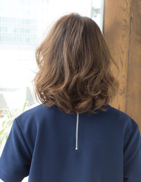 ラフなボブパーマ As 76 ヘアカタログ 髪型 ヘアスタイル Afloat