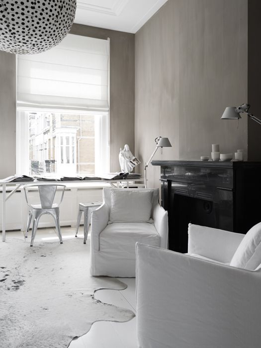 ✭ living room, black and white and a splash of colour would be cool!