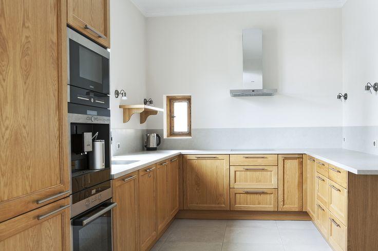 Kuchnia w domu prywatnym. Projekt i realizacja ArteCubo Wrocław. #kuchnia #meble kuchenne #kitchen #kitchendesign #wood #oak #natural #interior #design #siemens #artecubo