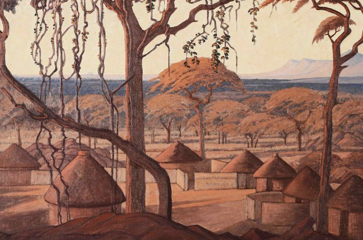 A series of stunning landscapes by J.H. Pierneef, (1886-1957),