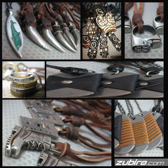 Już dzisiaj w naszym sklepie zubiro.com pojawiły się nowe modele naszyjników męskich: kły, nieśmiertelniki, glany, kasety, imitacje zapalniczek i wiele innych. Zobacz więcej:  http://zubiro.com/naszyjniki_mlodziezowe,44,0.html