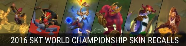 cool 2016 SKT World Championship Skin Recalls teaser
