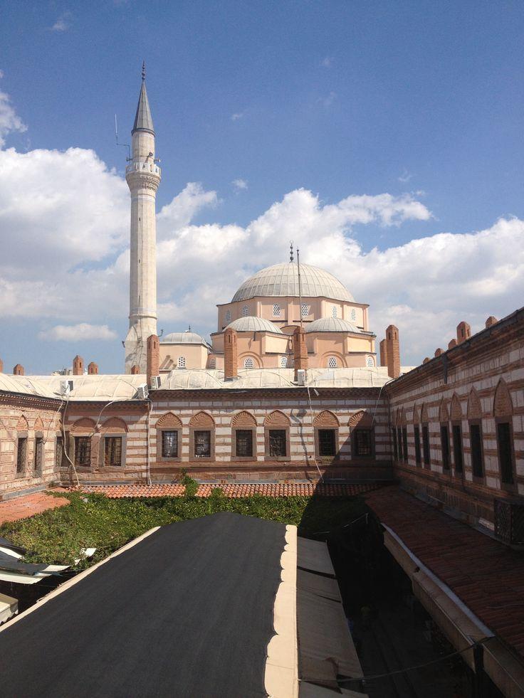 İzmir mosque City old centre han