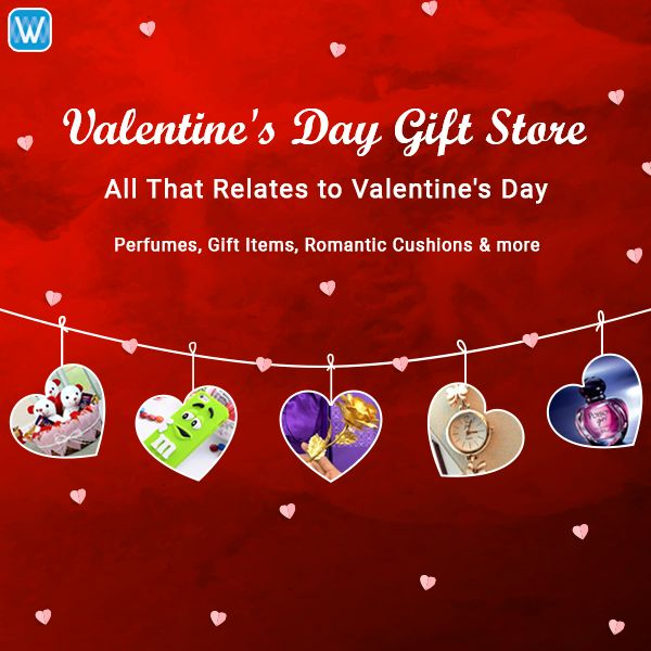 Retailers, source the best gift items customized for Valentine's Day only on #Wydr Wholesale E-Commerce. Enjoy great deals! SuperFast Delivery! Bulk order only!