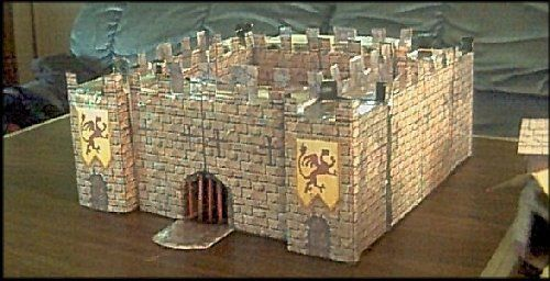 Papermau: Medieval Castle Paper Model - by Billy`s Shed