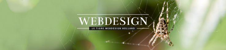 Website Le Tigre Webdesign Holland responsive gemaakt met eigen foto's uit mooi Brabant.  Zie mijn nieuwe portfolio. Like it - Share it - Promote it!