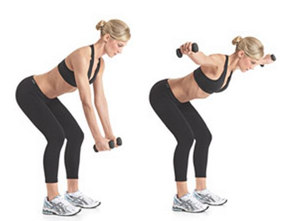 25+ best ideas about Bent Over Lateral Raises on Pinterest