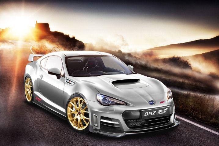 2013 Subaru BRZ STi. Didn't see this one coming.