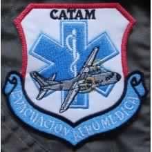Parche de personal de evacuación aeromédica del CATAM