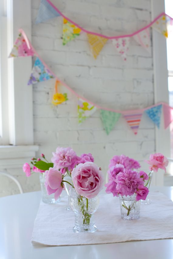 Updates and Flowers: Decor, Pink Flower, Creative Mint, Flower Design, Shabby Chic, Mint Blogspot, Parties Ideas, Pink Peonies, Banners