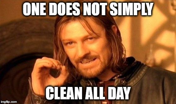 Meme Of The Day Clean One Does Not Simply Funny Great Dane