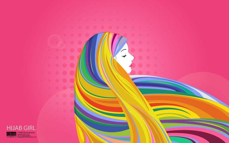 Hijab Girl by bobGraphics