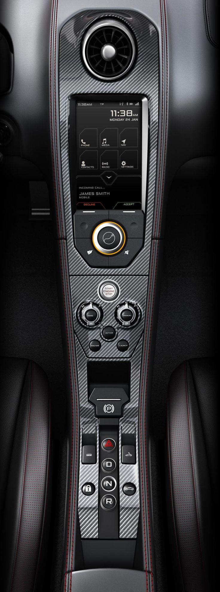 McLaren Console
